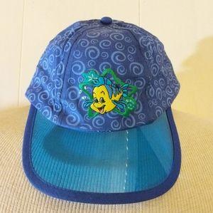 Vintage 'The Little Mermaid' Embroidered Kid Hat